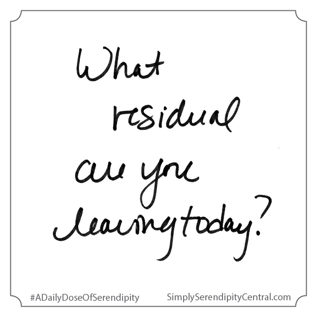 What residual are you leaving today?
