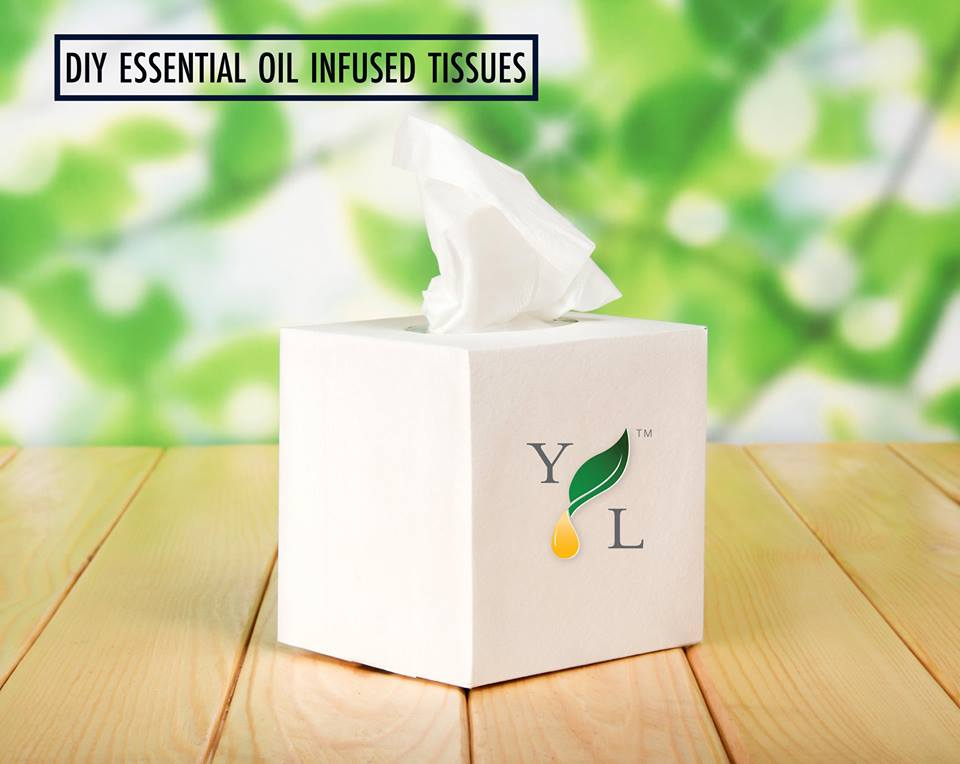 #DIY Tissues with Young Living | Simply Serendipity