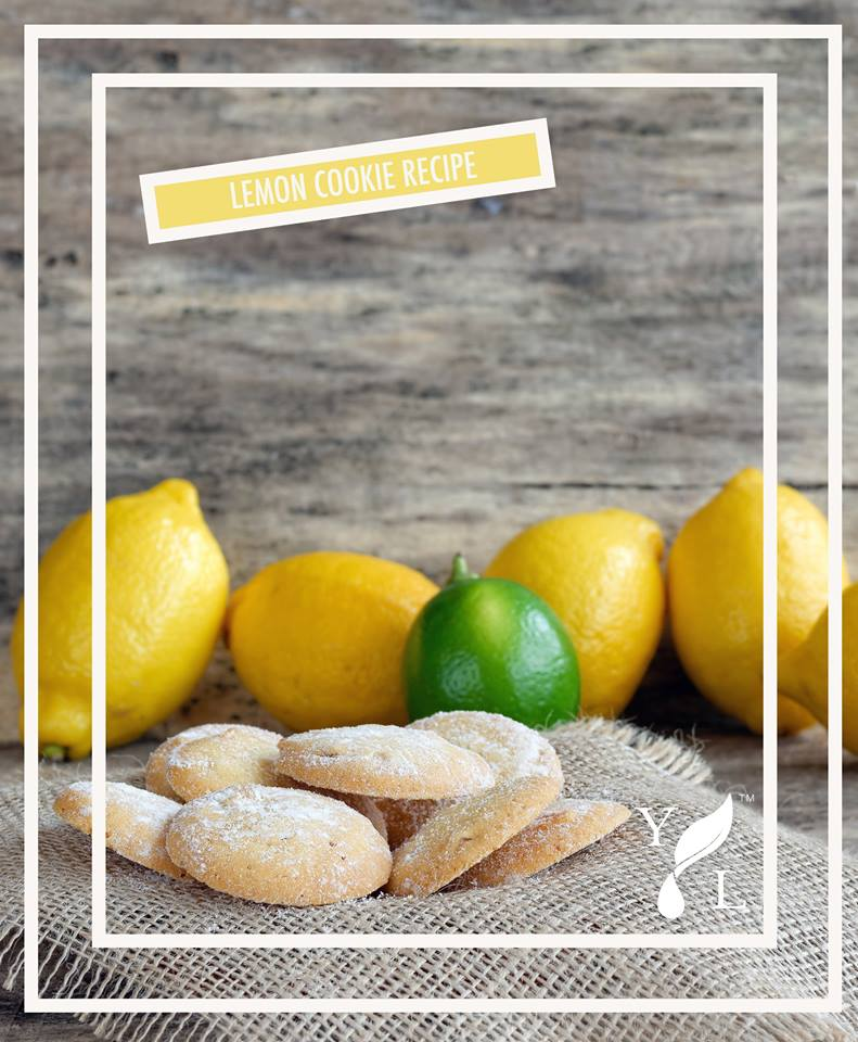 Young Living Lemon Cookie | Simply Serendipity