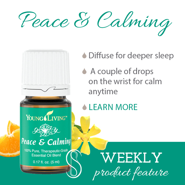 Product Feature: Peace & Calming Essential Oils