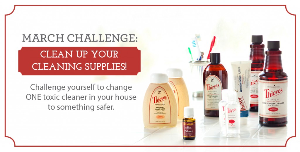 Young Living Cleaning Challenge | Simply Serendipity