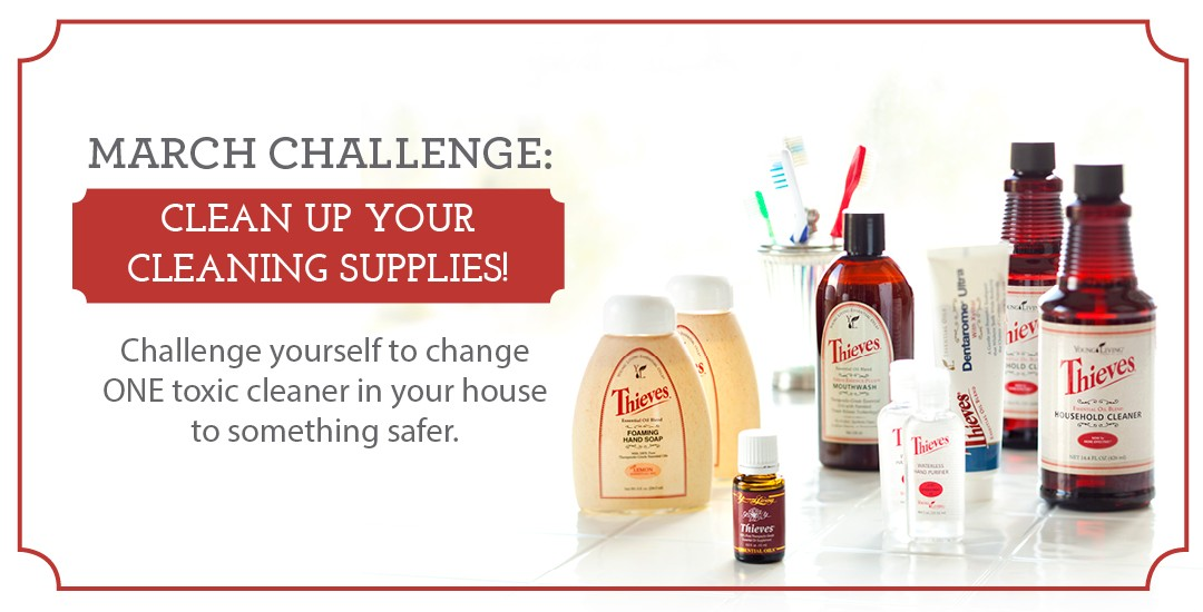 March Challenge: Clean up your cleaning!
