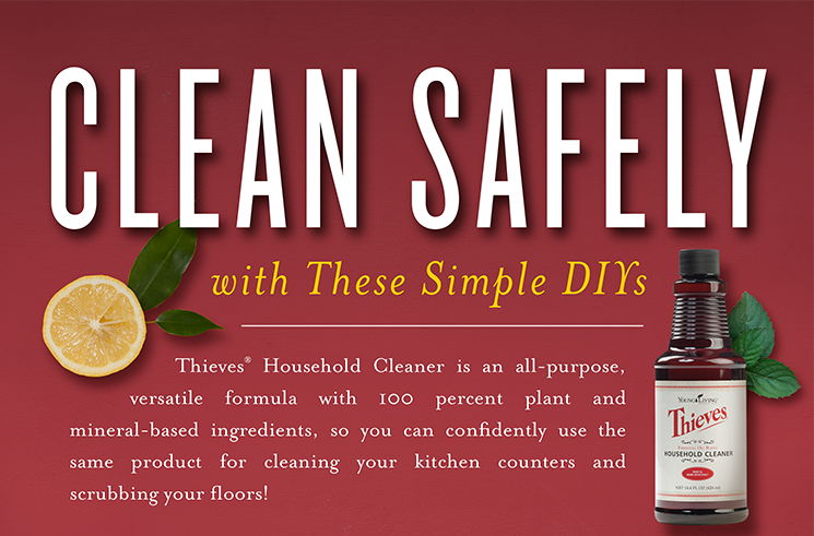 Ways to use your Thieves Household Cleaner – PLUS Giveaway!