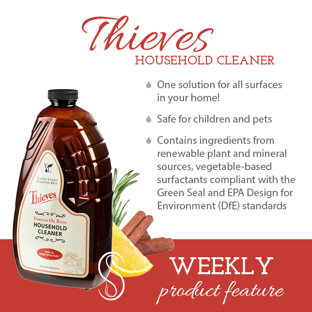 Product Feature: Thieves Household Cleaner with Mel
