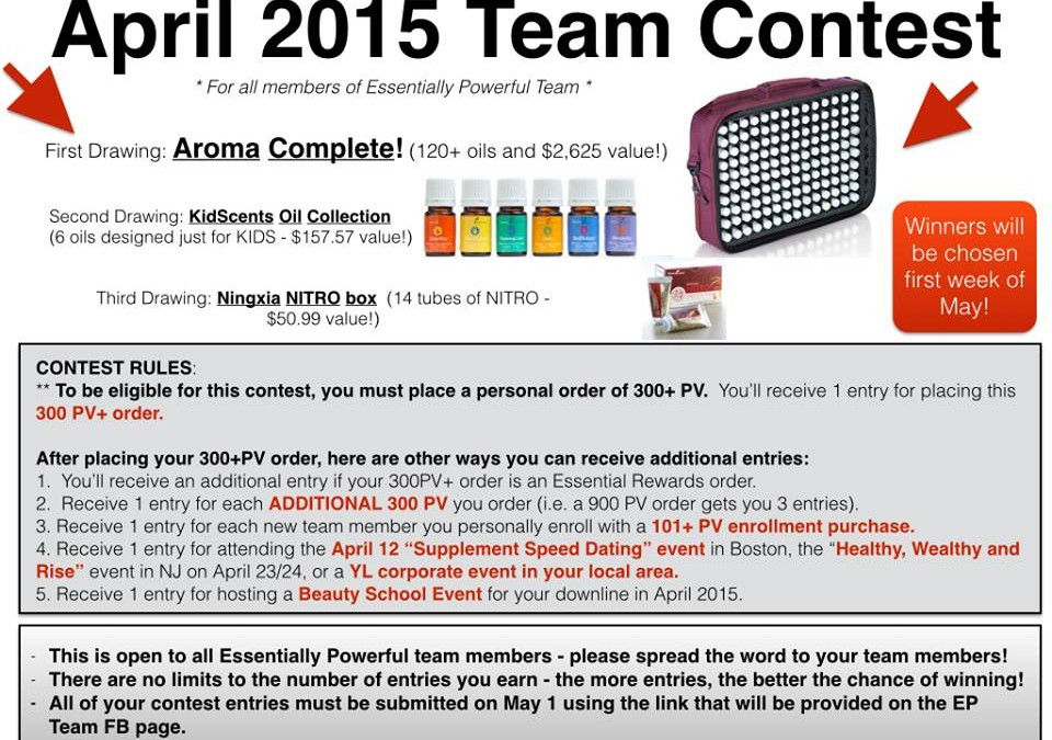 HUGE Promotion for April for Simply Serendipity Team!