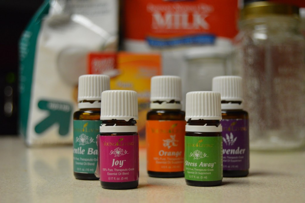 Young Living Essential Oils DIY Bath Salts