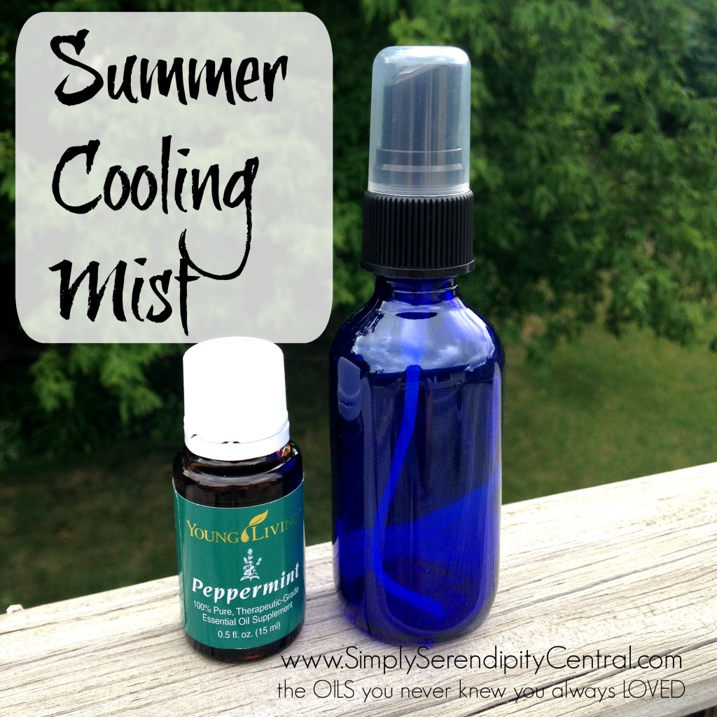 #DIY: Summer Cooling Spray | Young Living Essential Oils