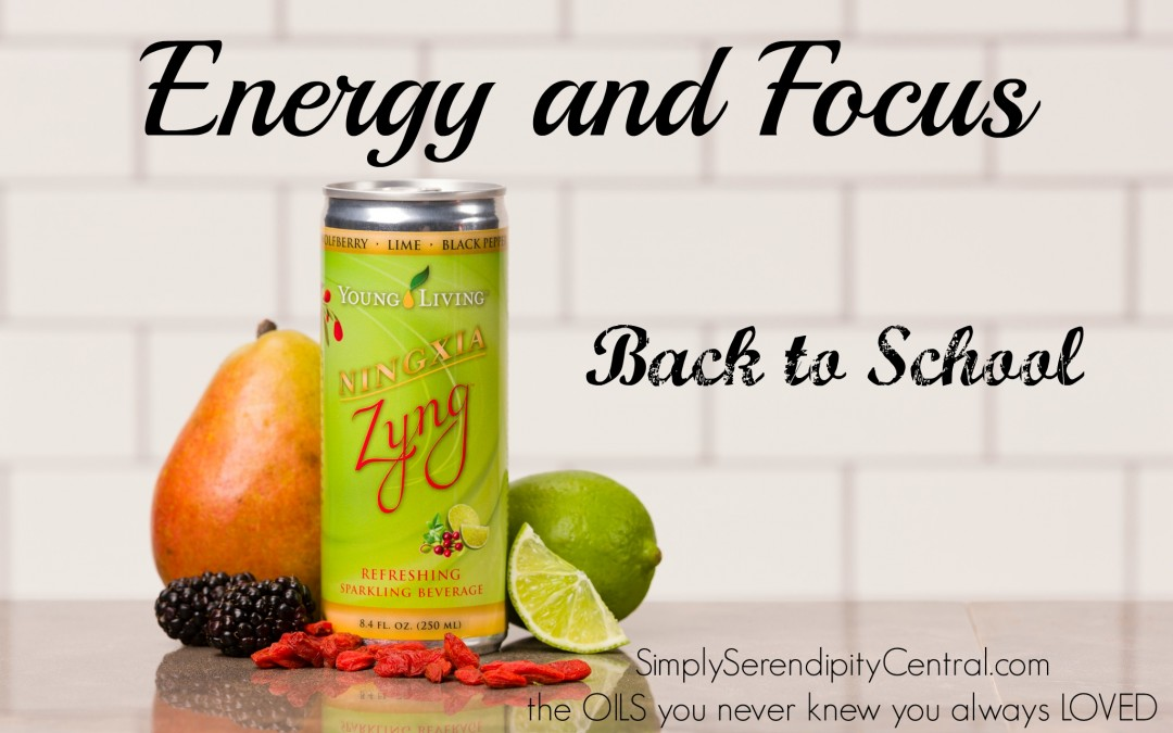 Back to School #6: Focus AND Energy