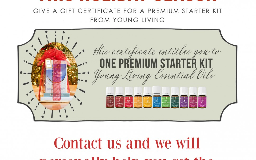 Gift Ideas: How about a Premium Starter Kit?