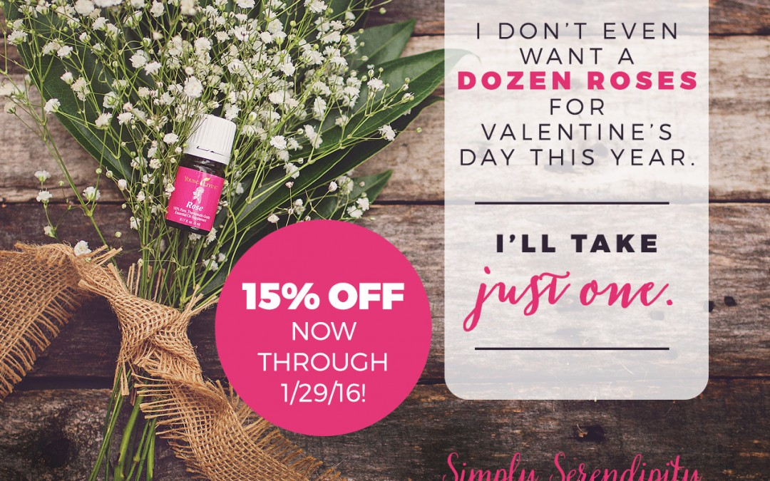 Rose Oil — AMAZING AND 15% off!