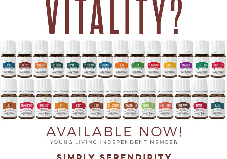 Vitality: Our newest line!