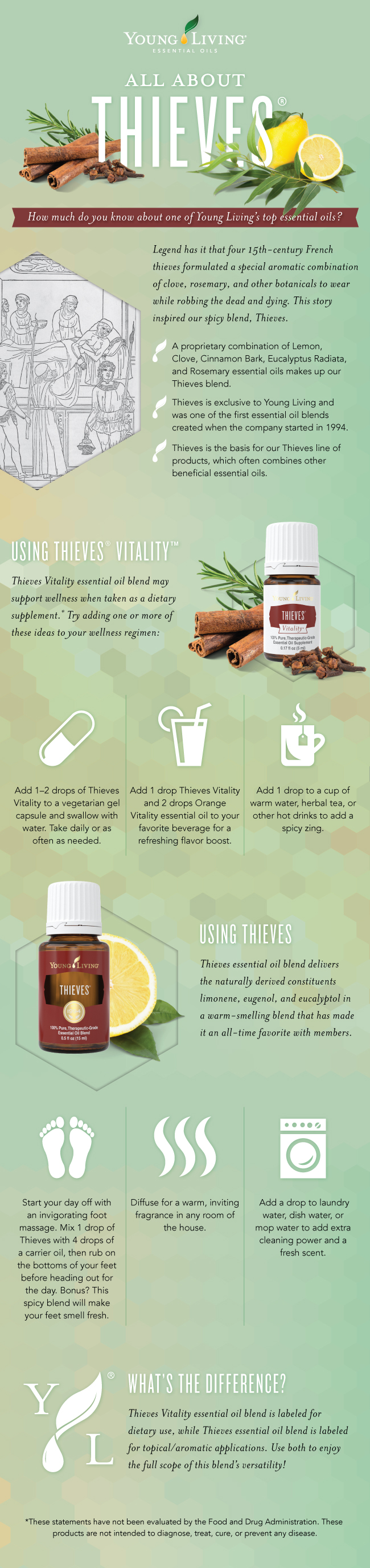 Young Living Thieves Essential Oil | Simply Serendipity