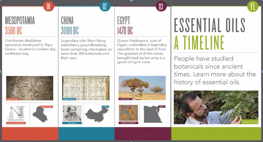Essential Oil Use throughout HIstory