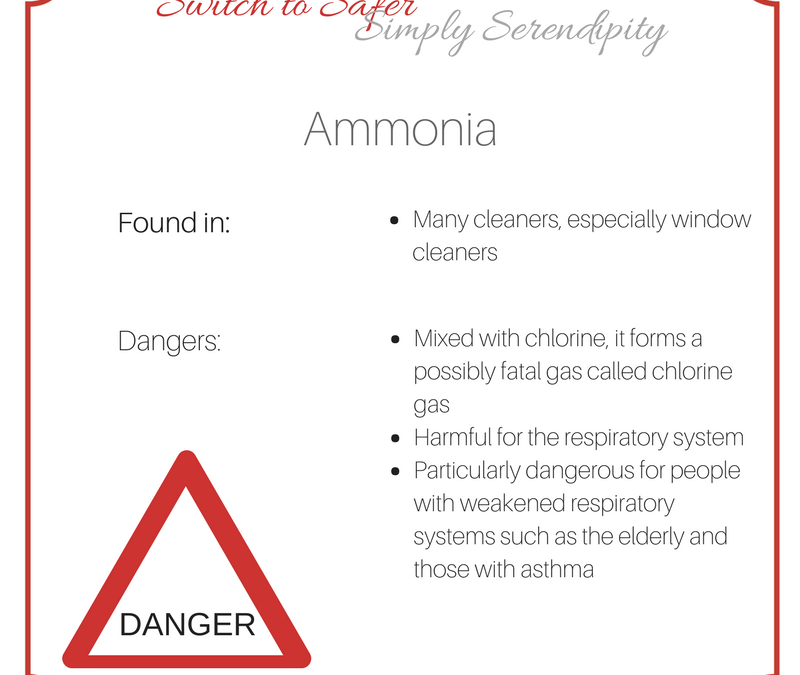 Switch To Safer: Toxins to Avoid: Ammonia