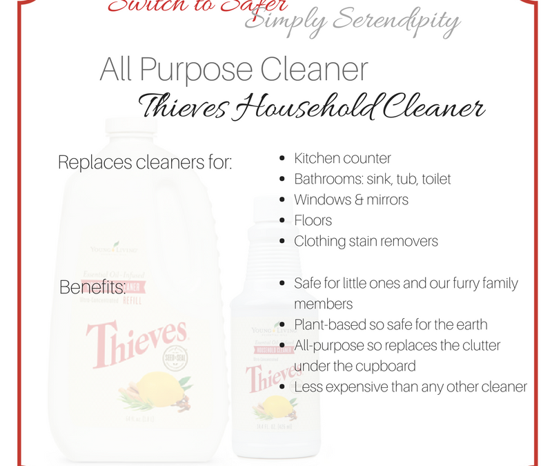 #SwitchToSafer: All Purpose Cleaner: Thieves Household Cleaner