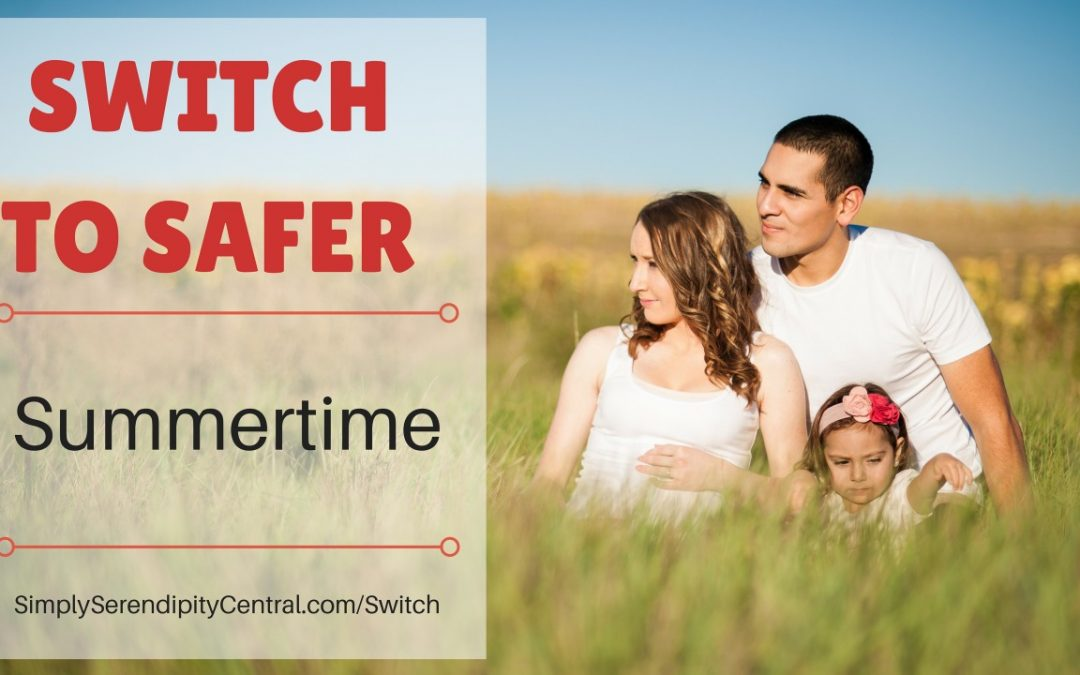 Switch to Safer #13: Sunscreen, Bug Spray, and After Sun Spray